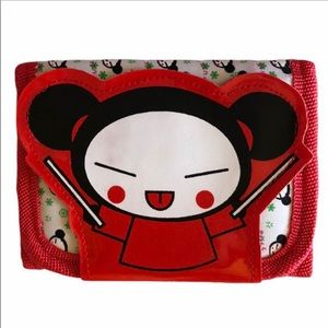 pucca double sided velcro wallet.